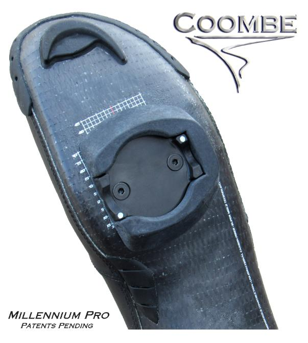Coombe Millennium Pro - walkble cleat design